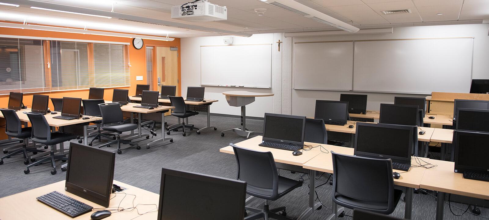 Monroe Hall, Room 319 Lab