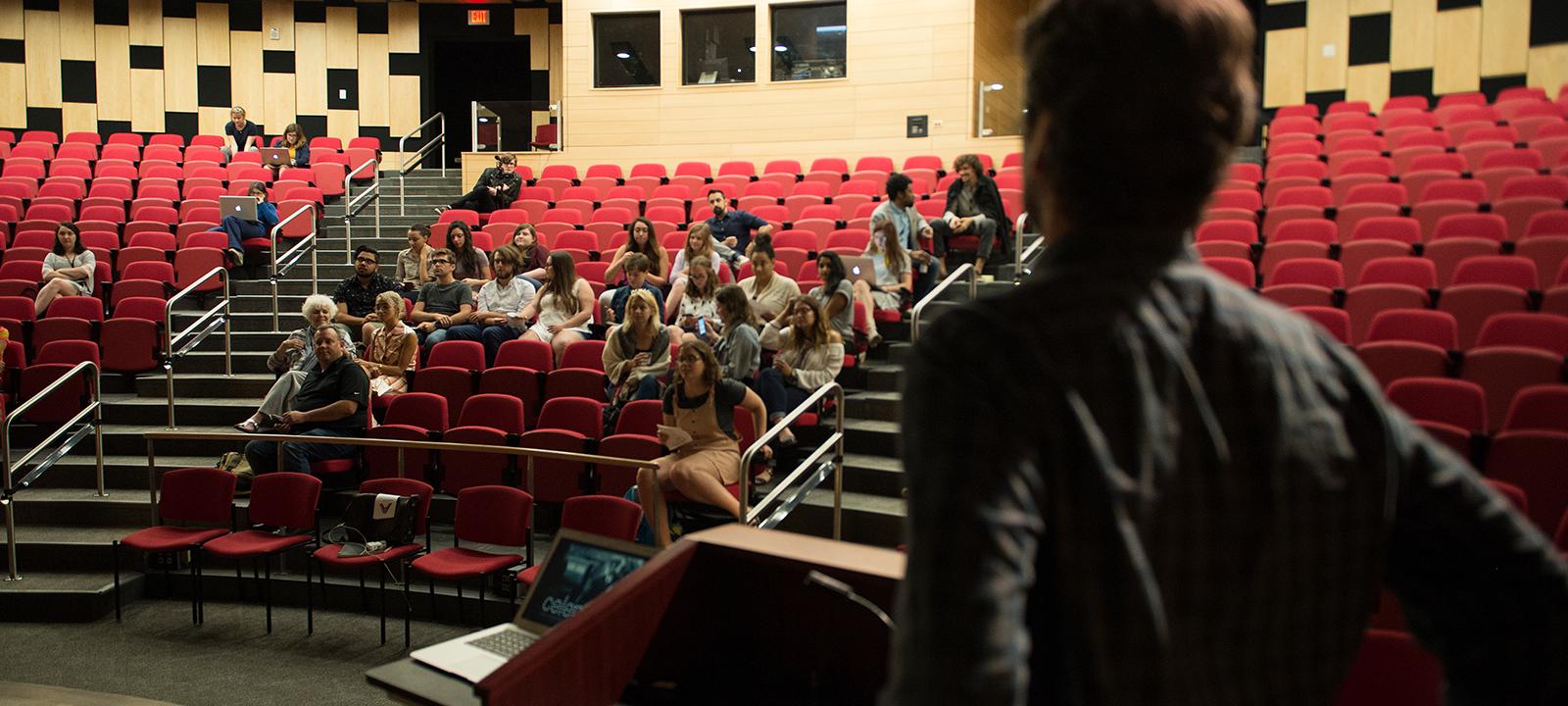 Nunemaker Auditorium, Stage